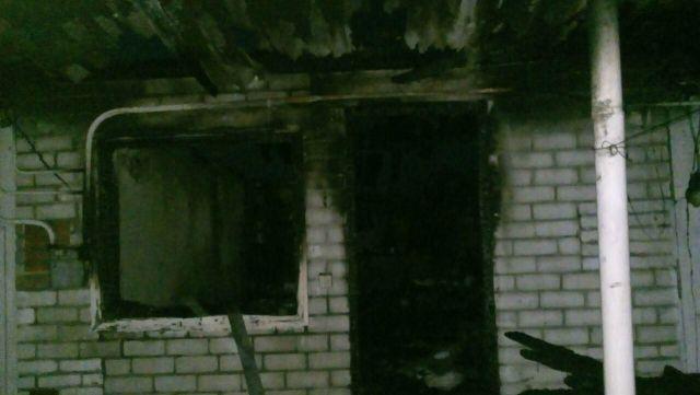 В посёлке Дёмино пожар унёс жизнь человека