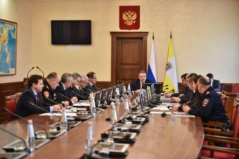На краевом совещании по правопорядку обсудили вопросы экономической безопасности