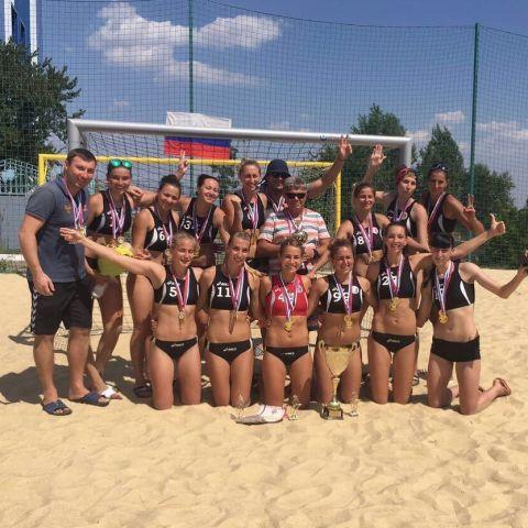 Ставропольский гандбольный клуб в третий раз одержал победу