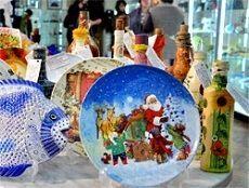 Ставропольские умельцы представили свои работы на выставке-продаже «Рождественский сувенир»