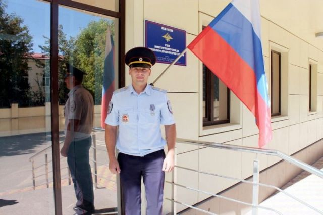Ставропольский полицейский, давший отпор вооружённым бандитам, награждён медалью «За отвагу»