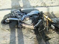 """В Ставрополе мотоцикл столкнулся с """"семеркой"""", водитель погиб"""