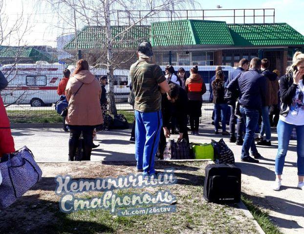 В Ставрополе была оцеплена автостанция