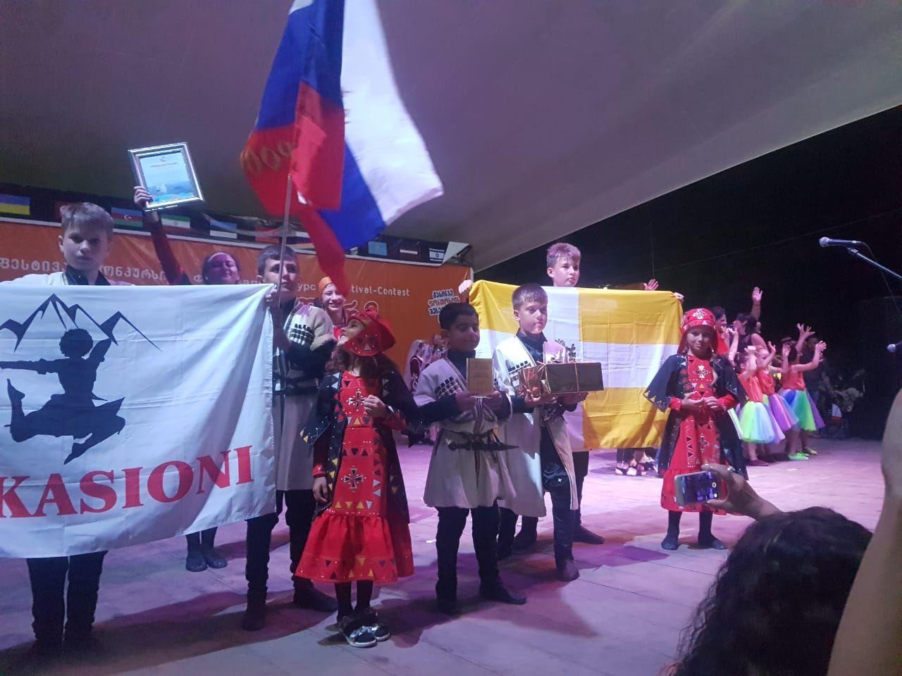 Ставропольский ансамбль привез Гран-при с интернационального фестиваля вГрузии