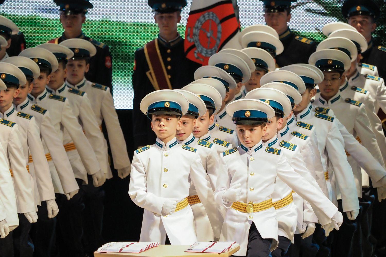 Воспитанники Ставропольского президентского училища принесли присягу отчизне