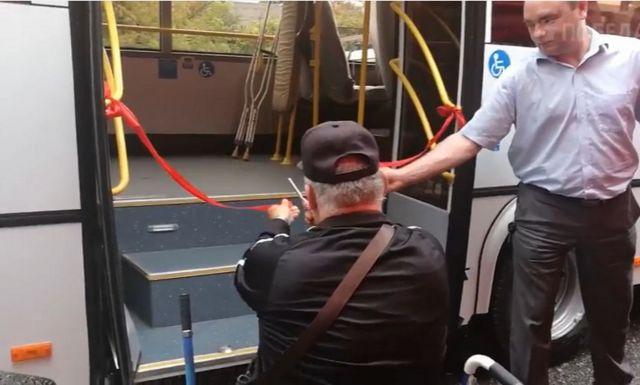 Георгиевск получил автобус по программе «Доступная среда»
