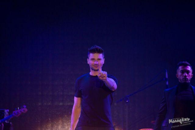 Сергей Лазарев после концерта в Ставрополе поблагодарил горожан за любовь