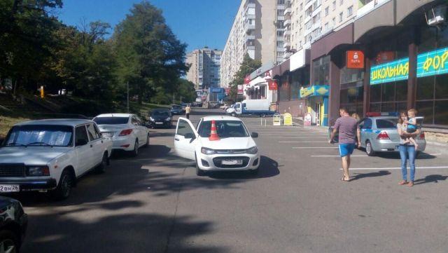 ВСтаврополе завыходные произошло два ДТП, вкотором пострадали двое детей