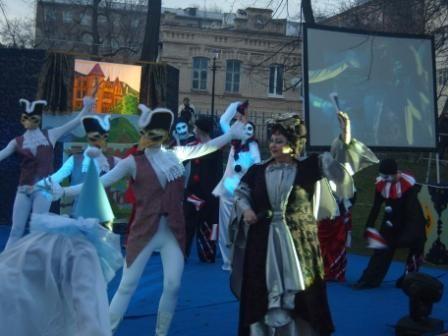 В Пятигорске проходит Открытый Фестиваль уличных театров