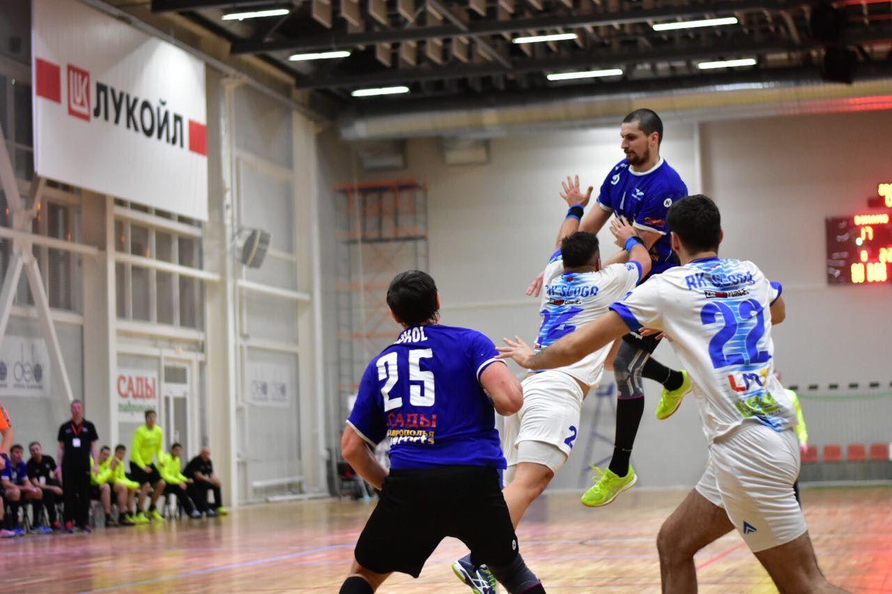Ставропольские гандболисты вышли в1/8 финала европейского Кубка Вызова