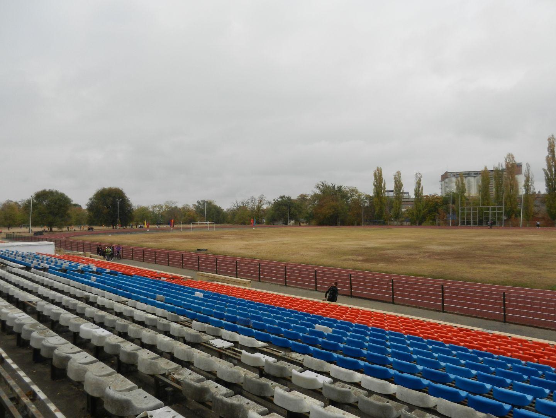 В Георгиевске городской стадион обретает новый вид