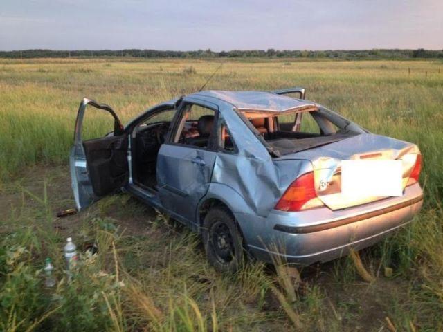 На Ставрополье в ДТП пострадала семья с двумя детьми