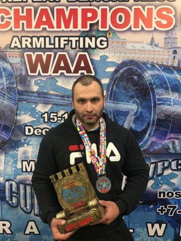 Сотрудник ставропольского управления Росгвардии стал победителем кубка мира по пауэрлифтингу