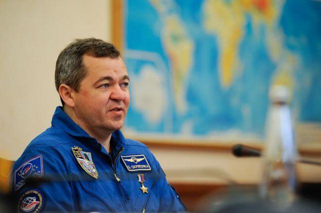 Губернатор Ставропольского края встретился с космонавтом Олегом Скрипочкой