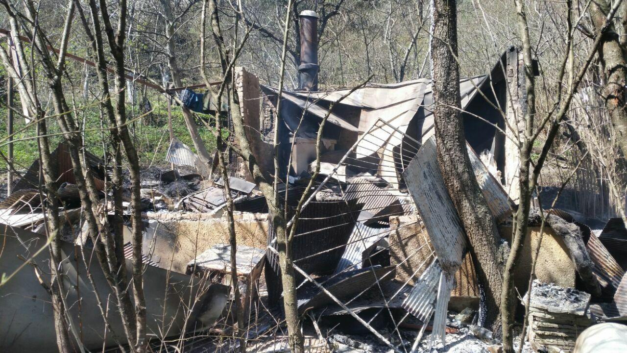 В Кисловодске на пожаре погиб человек
