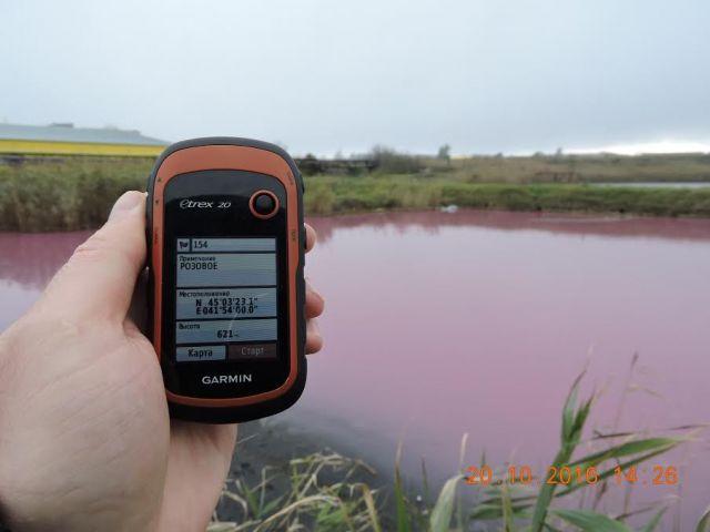 В Ставрополе выясняют причины возникновения розового озера