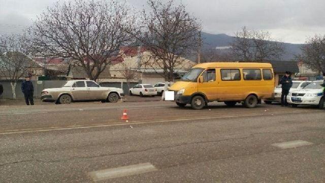 Под Пятигорском водитель маршрутки сбил пешехода