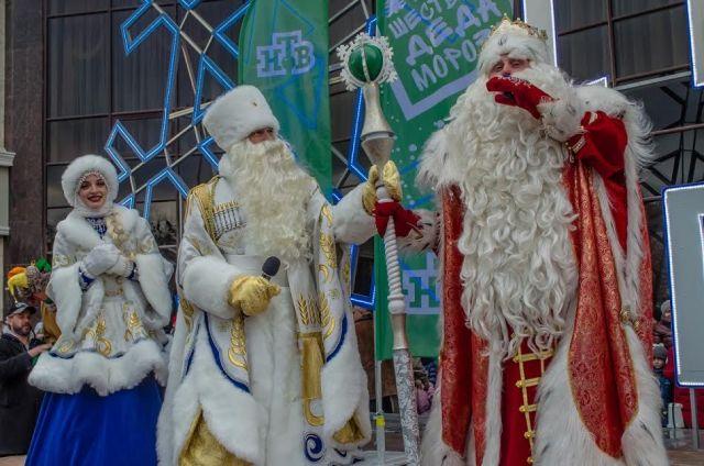 Ставрополь посетил Всероссийский Дед Мороз
