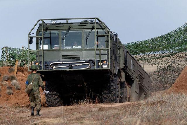 В Ставропольском крае проходят учения ракетных войск