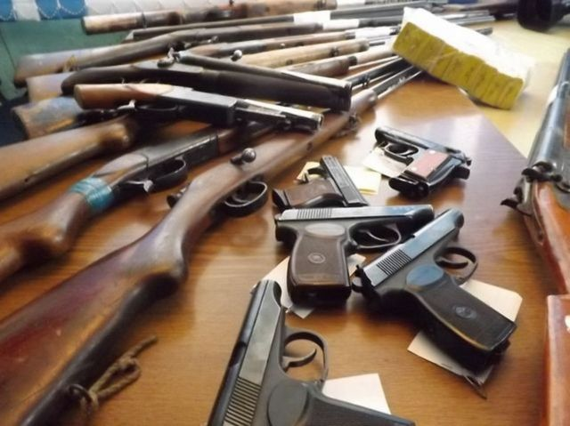 Полиция рекомендует жителям Ставрополя добровольно сдать незаконное оружие и боеприпасы