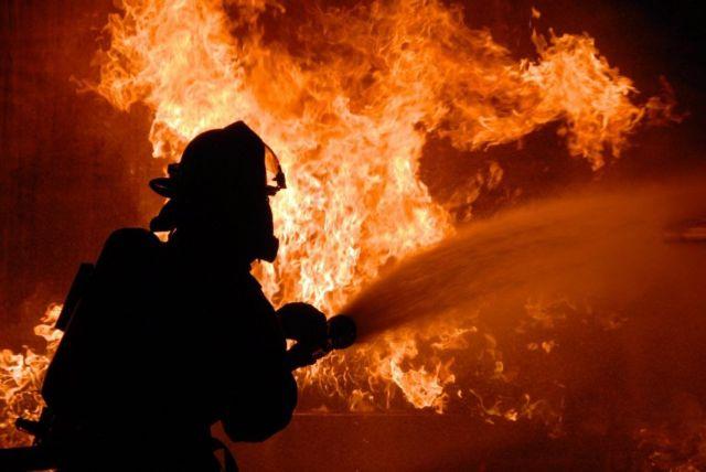 На Ставрополье ночью сгорели два комбайна