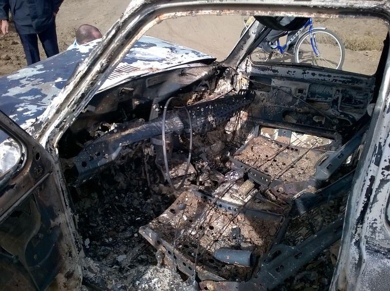 НаСтаврополье нетрезвый юноша угнал ислучайно сжёг авто