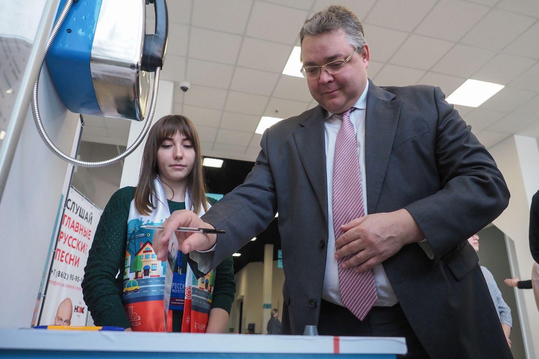 Губернатор Ставрополья проголосовал на отборочном этапе программы «Комфортная городская среда»
