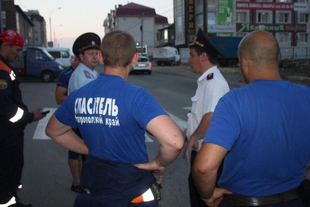 Ставропольские спасатели вернули домой заблудившегося ребёнка