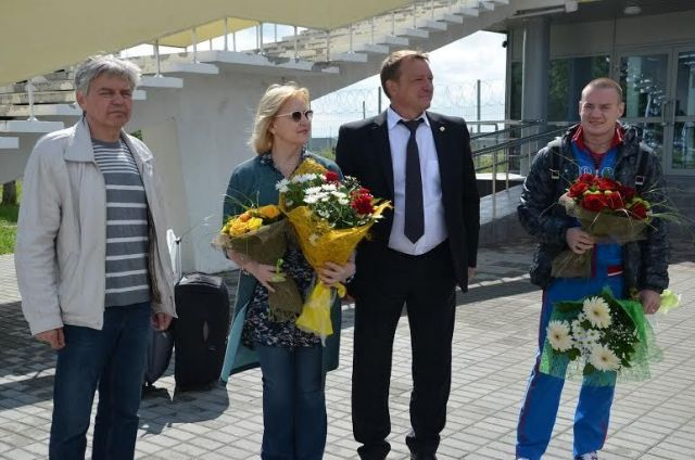 Героев Лондона встретили в Ставрополе