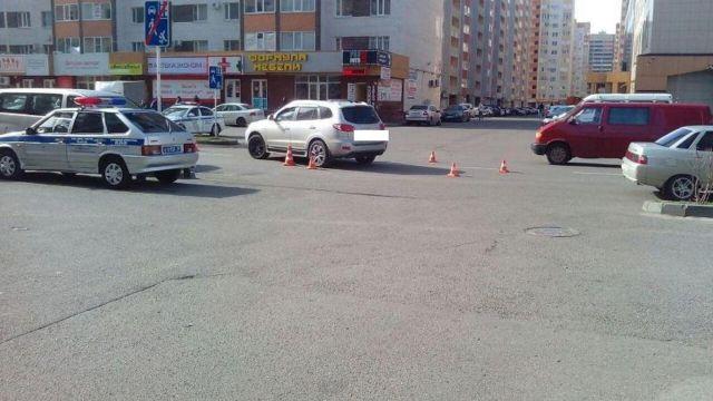 82-летняя женщина попала под колёса легковушки в Ставрополе