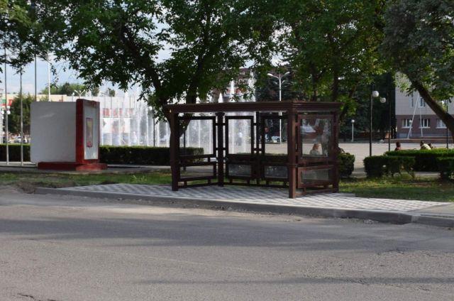 В Георгиевске появится остановка в виде футбольных ворот