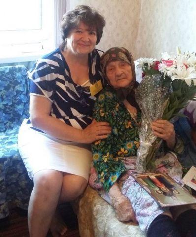 105-летний юбилей отметила одна из старейших жительниц Ставрополья