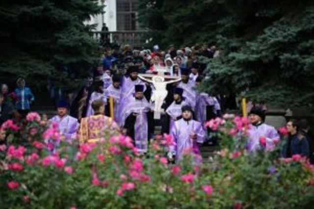 Святыню из Иерусалима пронесут по улицам Ставрополя