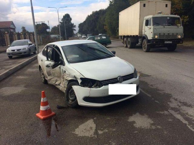 В Пятигорске в ДТП пострадали двое детей