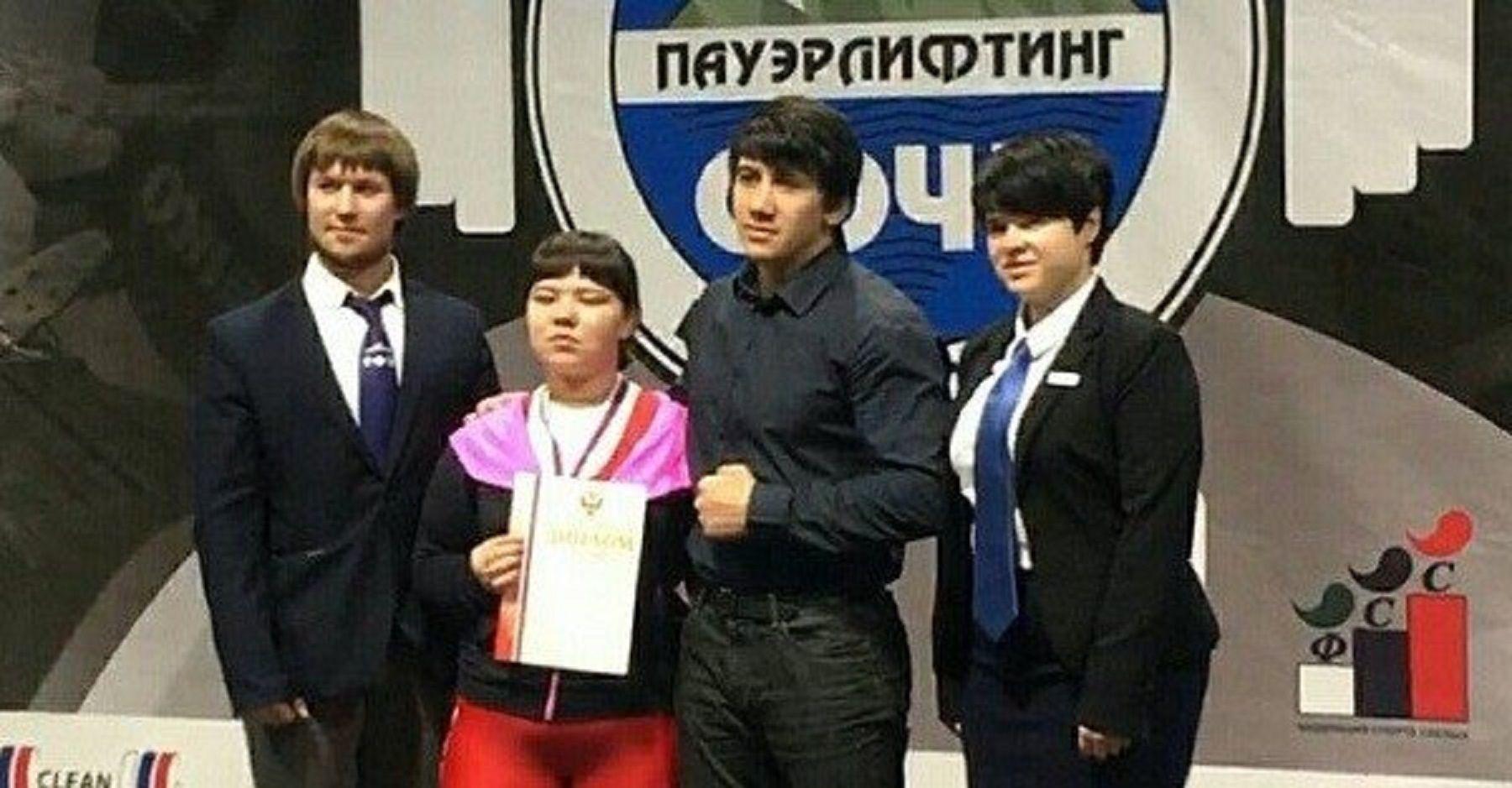 Жительница Кисловодска выиграла чемпионат РФ пожиму штанги лежа
