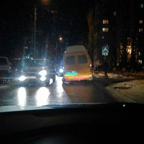 В Ставрополе у маршрутки на ходу отвалилось колесо