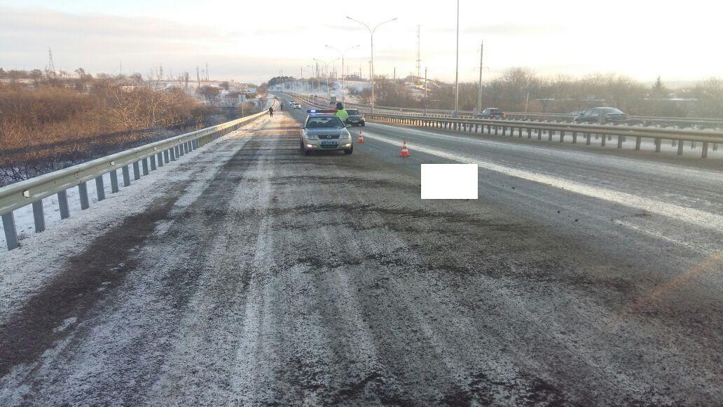 НаСтаврополье шофёр насмерть сбил пенсионерку и исчез