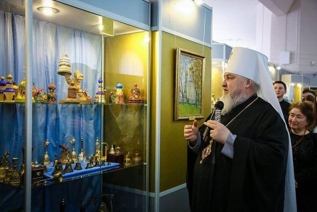 В Ставрополе открылась выставка экспонатов из личного собрания митрополита Кирилла