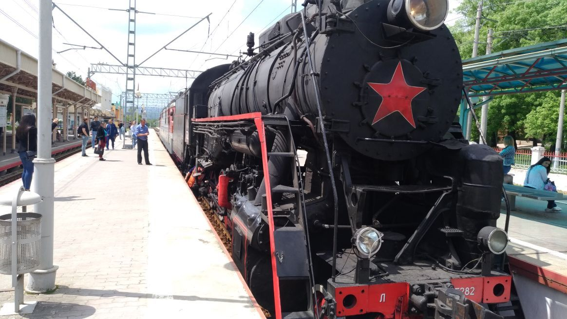 Ретро-поезд запустят к открытию сезона на КМВ