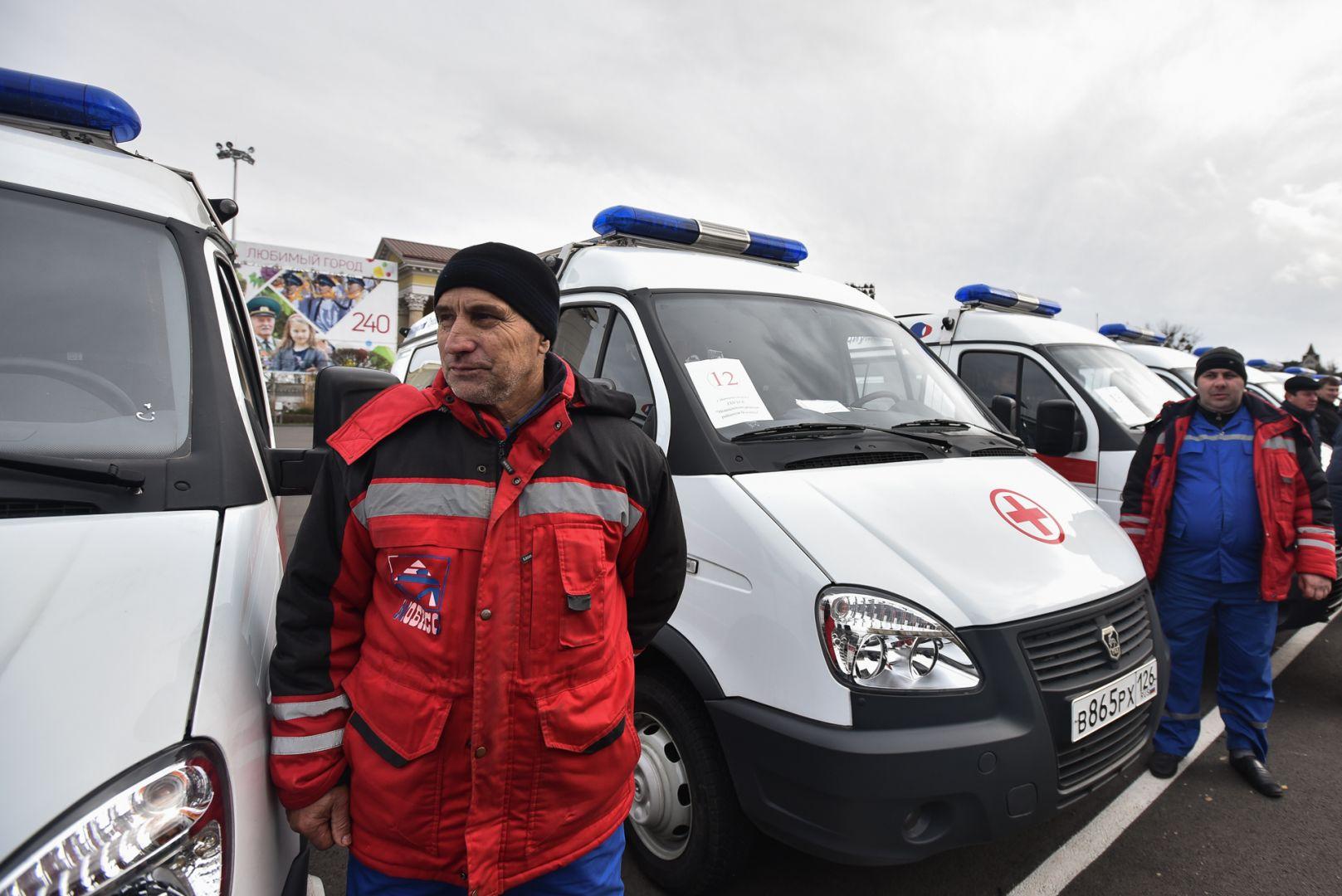 Клиники Ставрополья получили 21 «Скорую» отКТК