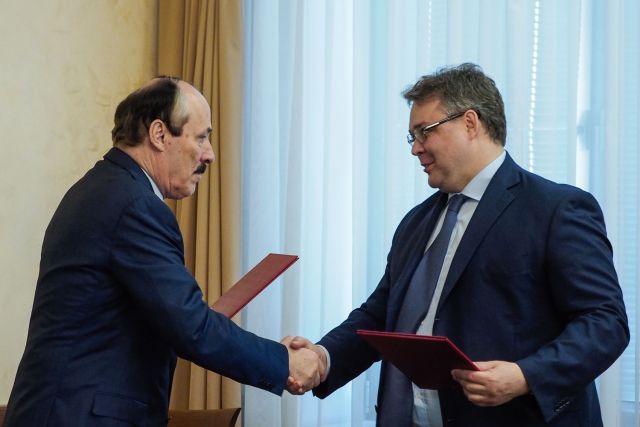 На Ставрополье прибыл глава Республики Дагестан Рамазан Абдулатипов