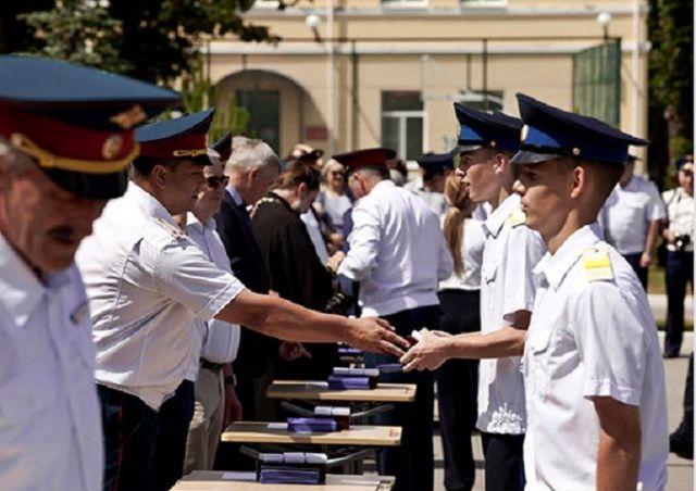 В Ставропольском президентском кадетском училище прошёл выпускной