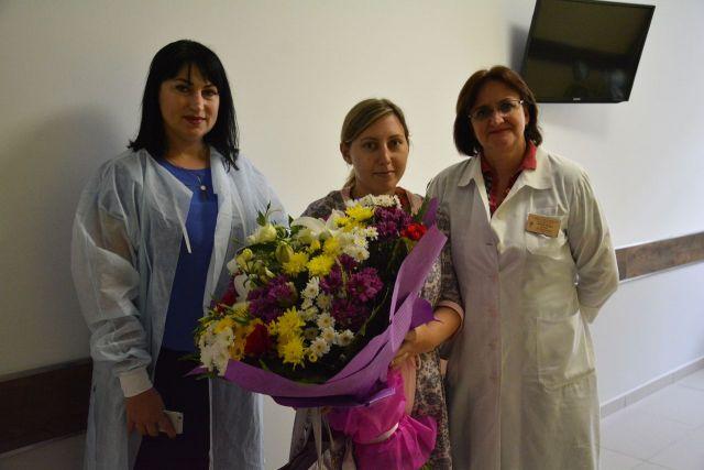 В новом перинатальном центре Ставрополя родилась первая тройня