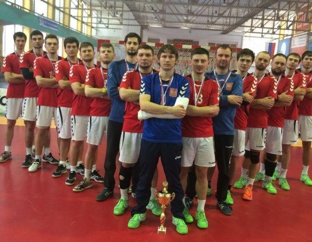 Ставропольские гандболисты стали двукратными обладателями Кубка России