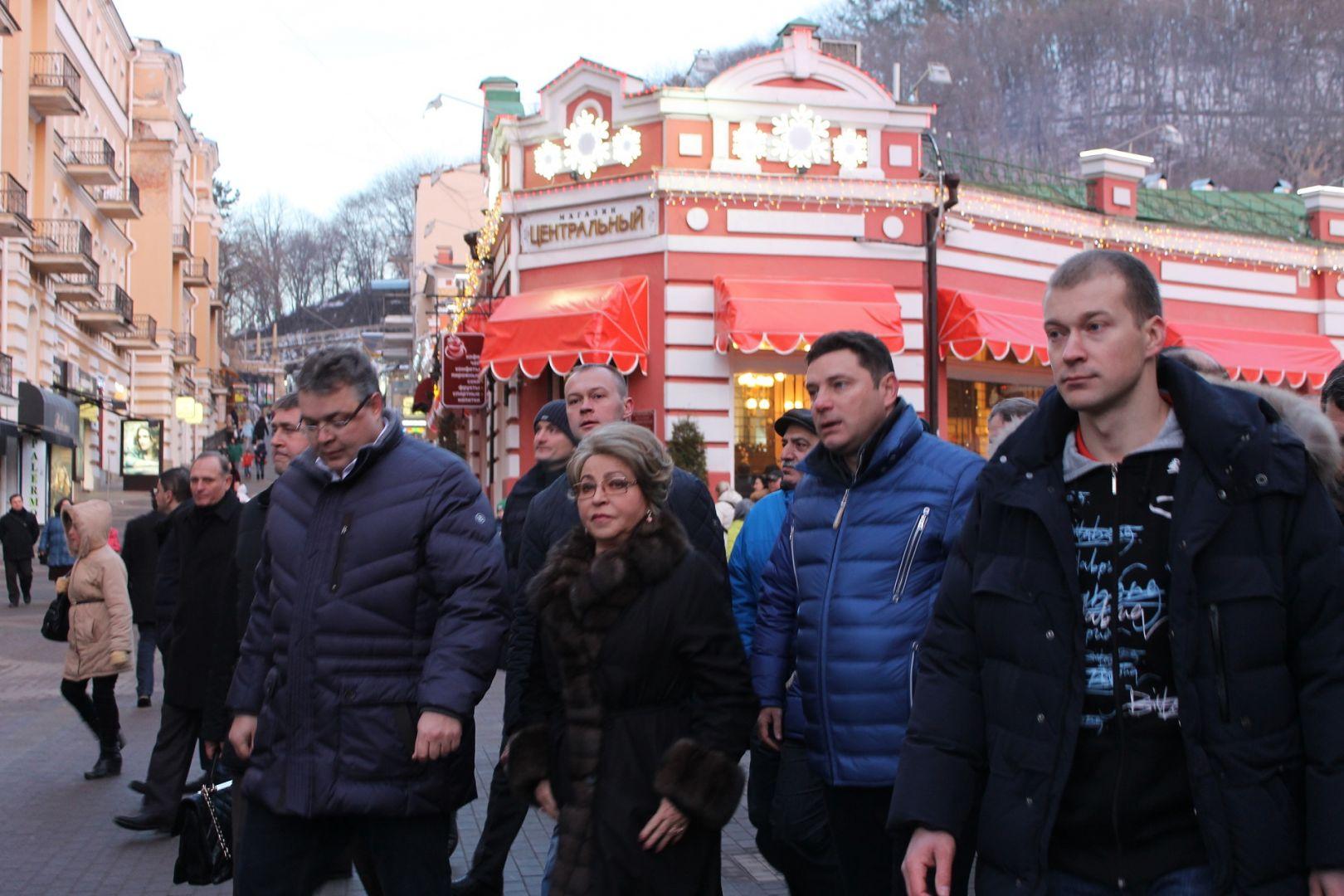 Валентина Матвиенко: «К2025-му году Кисловодск должен стать лучшим курортом вмире»