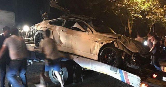 В Пятигорске водитель иномарки пострадал в ДТП на месте дуэли Лермонтова