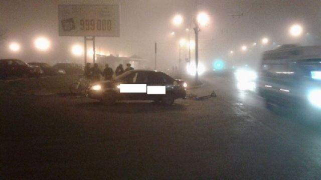В Ставрополе водитель сбил велосипедиста