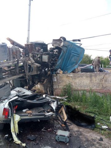 В Ставрополе в ДТП с бетономешалкой погибли два человека