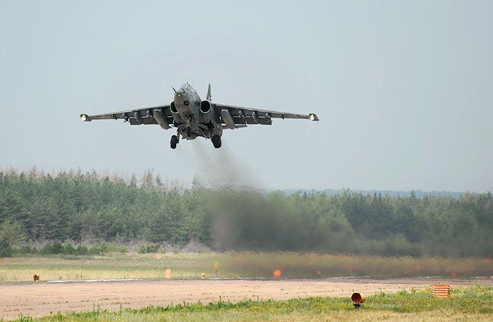 На Ставрополье упал самолёт Су-25: пилот погиб