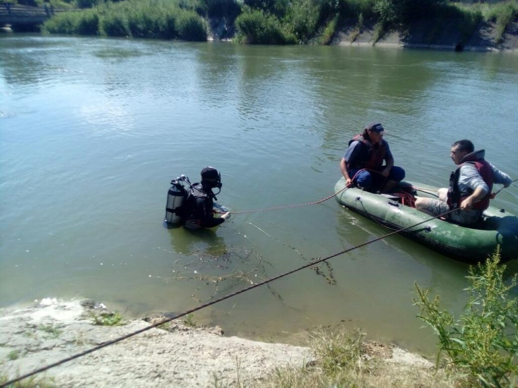 НаСтаврополье содна Правоегорлыкского канала достали тело ребёнка